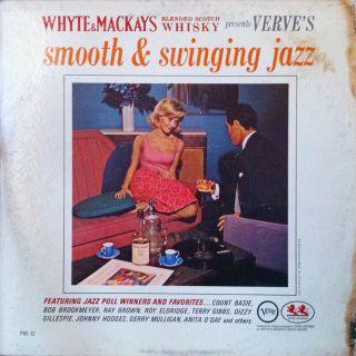 Swinging Jazz LP Verve Records Count Basie Ray Brown Dizzy Gillespie
