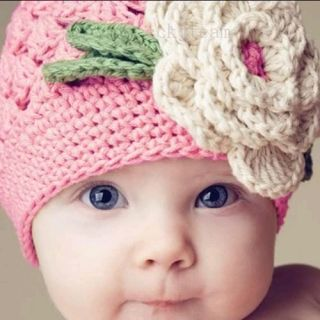 Infant Toddler Beanie Baby Hat Cap Crochet Handmade Photography Prop