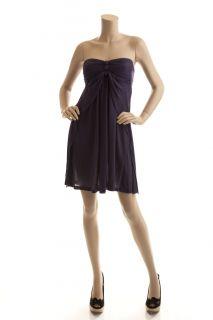 BCBG Max Azria Purple Knit Jersey Cover Up Dress Size XS