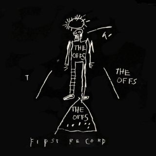 Basquiat Offs 1st Record cover by Jean Michel Basquiat WHITE Vinyl