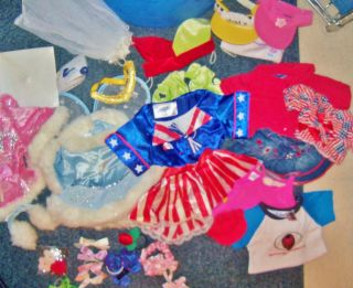 Build A Bear Workshop Clothing and Accessories Lot