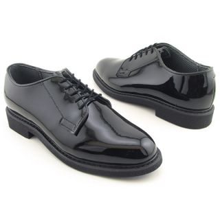 Bates Lites Black Police Oxfords Shoes Mens Size 10