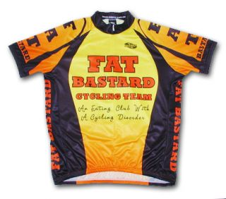 Fat Bastard Cycling Jersey Big Mens Bicycle Bike New