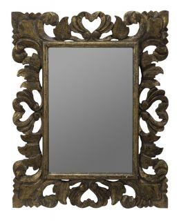31 Large Mirror Bathroom Vanity Wall Hanging Wood Frame