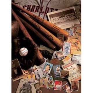 Baseball Memorabilia 500 PC Jigsaw Puzzle New