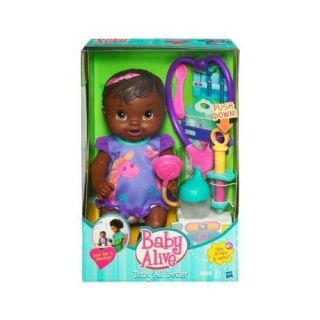 Baby Alive   BABY ALL BETTER   African American Doll   Drinks & Wets