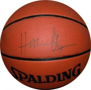 Hakeem Olajuwon Autographed Signed Basketball Houston Rockets HOF CFS