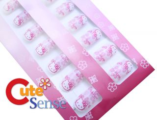Sanrio Hello Kitty Nails Set 60pc Beauty Supply