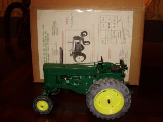 YODER 1989 BEAVER FALLS SHOW JOHN DEERE 720 DIESEL W DECALS PAPERS MIB
