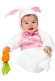 Newborn Baby Cute Easter Bunny Rabbit Bunting Costume