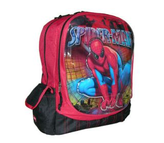 Marvel Spider Man School Boys Kids Backpack Bag
