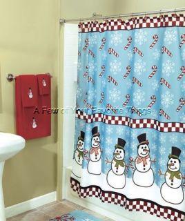 Western theme bathroom decor horses with star shower curtain for Bathroom holiday shower curtains