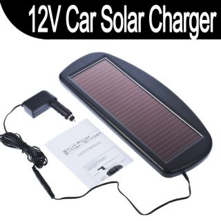 New Solar Panel 12V Battery Charger for Auto Car Truck Boat Motorcycle