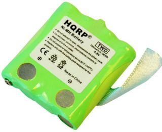 Pack HQRP Battery Fits Uniden BP 39 BT1013 BP39 GMR Two Way Radios
