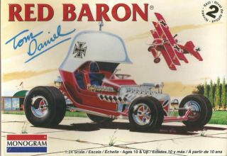 Revell Tom Daniels Red Baron 85 4258 1 24 Plastic Model Car Kit SEALED