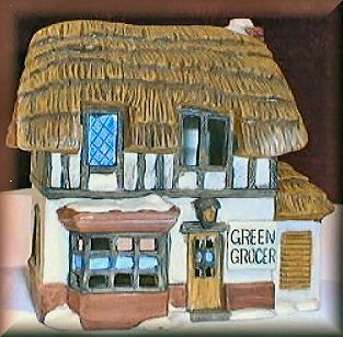 Green Grocer 1984 Department Dept 56 Dickens Village DV