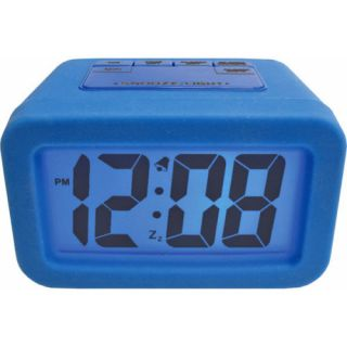 Advance Battery Operated Cute Blue Alarm Clock Snooze Backlight New