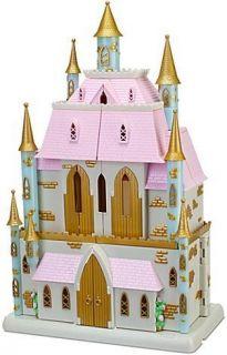 Disney Princess Magical Fairy Tale Castle Play Set 10 PVC Princesses