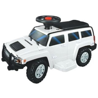 NEW STAR Hummer H3 6V Battery Operated Ride On Toy Car  White