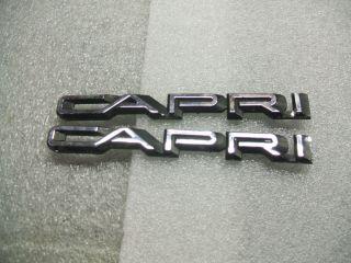 Bayliner Capri Emblems Set of Two Bayliner