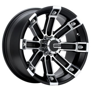 22 x 9 5 Mamba Ford F250 F350 Black Wheels Rims 8x170