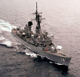 USS Buchanan DDG 14 Westpac Cruise Book Year Log 1969