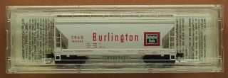 MTL Micro Trains 92070 CB Q Burlington 2 Bay Center Flo Rd 183925