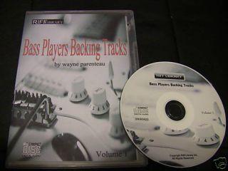 Bass Players Backing Tracks Tab Lessons Guitar Vol 1