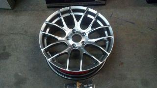 Breyton Race GTS Wheel 18 18x7 5 5x120 35mm Silver Wheel Rim