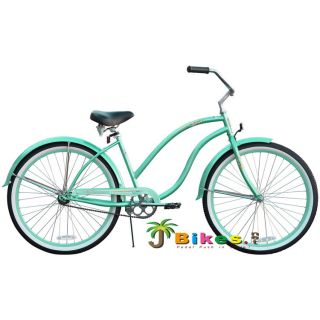 Beach Cruiser Bicycle bikes Firmstrong DIVA 26 Womens MINT GREEN with