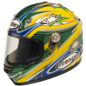 Suomy Vandal Bayliss Helmet Size Large Part 1011958 Free Shipping