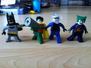 Lego Batman McDonalds~Batman Robin Joker & Mr Freeze Figures