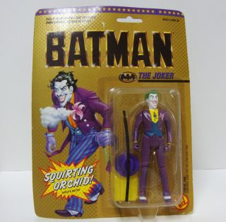 Toy Biz 4406 1989 Batman THE JOKER Squirting Orchid Action Figure