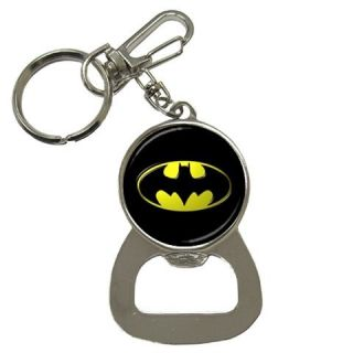 Batman Logo Key Ring Key Chain Beer Soda Bottle Cap Opener Best New