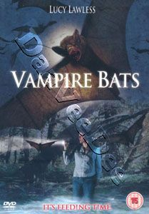 Vampire Bats New PAL Cult DVD Lucy Lawless Dylan Neal