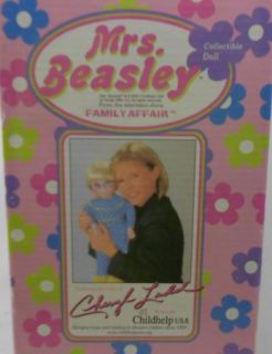 Mrs Beasley Family Affair Collectible Talking Doll Cheryl Ladd Voice