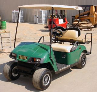 Go Golf Cart Battery Power 4 Seater New Batteries w Charger Nice