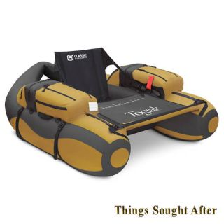 Pontoon Float Tube Inflatable Personal Watercraft Belly Boat