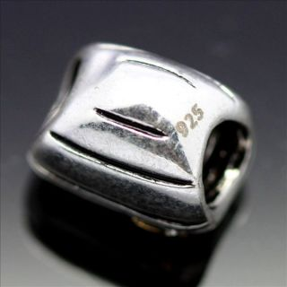 Sterling Silver European Charm Bead for Bracelet Necklace X028C
