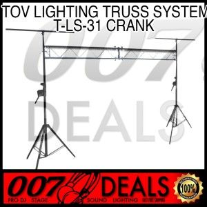 10 ft DJ Lighting Truss Stand Trussing System Crank TOV