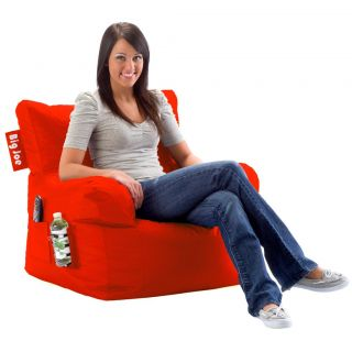 Big Joe Bean Bag Chair with Side Cup Holder Side Pocket Available in 5