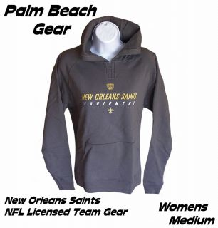 NEW ORLEANS SAINTS WOMENS HOODED SWEATSHIRT.mediumPRE SEASON