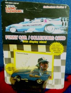 64th 3 inch 1989 Raymond Beadles Blue Max Ford Exp Nitro Funny Car