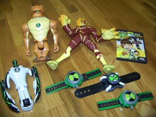 Ben 10 Lot 3 omnitrix watches complete season 2 DVD 3 large action