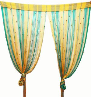 Home Decor Curtain Drapes Beaded Door Window Hanging Wall Divider
