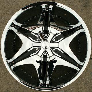 Akuza Big Papi 712 20 Chrome Rims Wheels Cadillac cts 08 Up 20 x 8 5