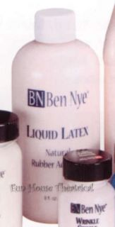 Ben Nye Liquid Latex 8 fl oz Halloween Theatrical Makeup LL 3