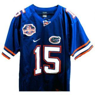 Tim Tebow Florida Gators 15 NCAA BCS Sewn Jersey Sz 52