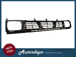 oem 62310 55g00 part bdi 93 97 nissan hardbody pickup grille dark