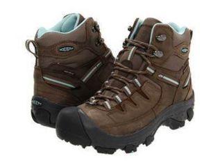 Keen Delta Mid Waterproof Hiking Winter Boots Women Shoe Chocolate